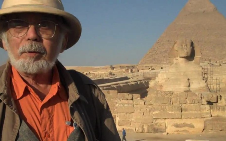 Please wish John Anthony West a very happy 85th Birthday!