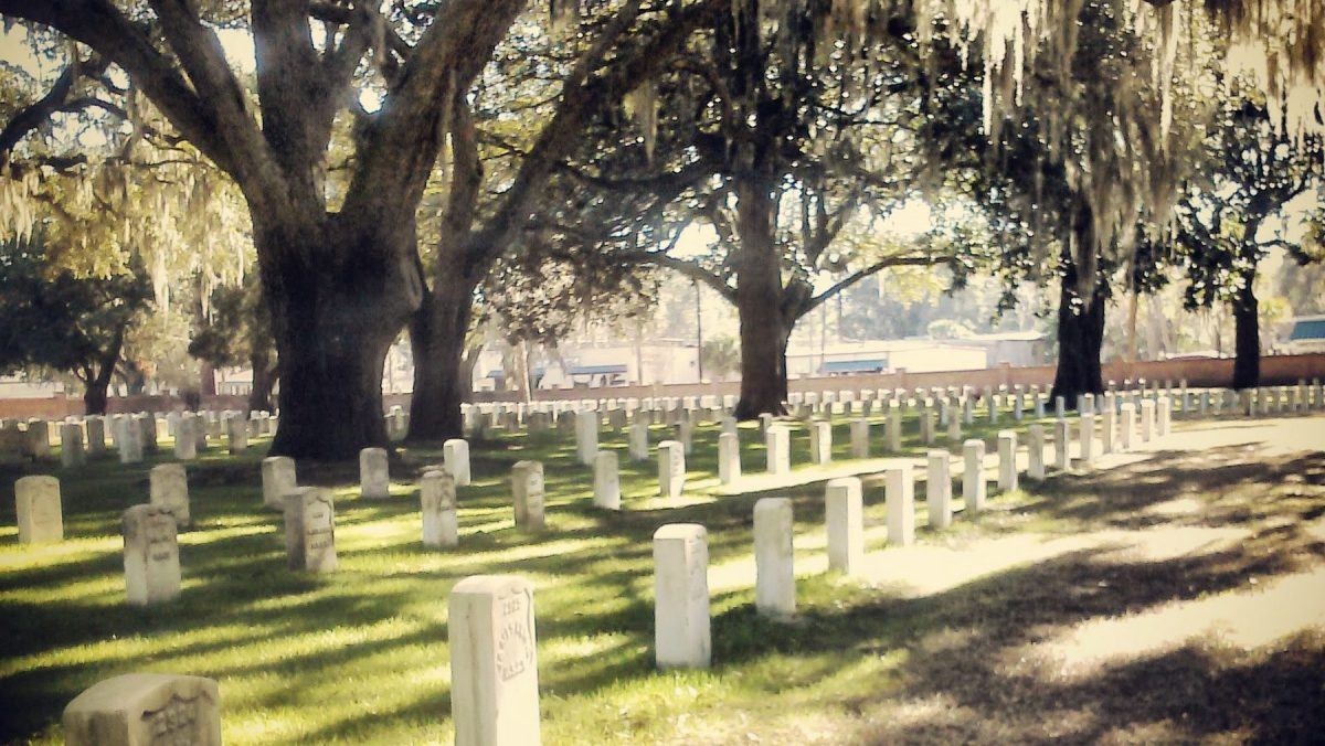 Beaufort National Cemetery, South Carolina: United States Colored Troops