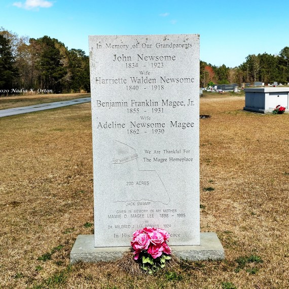 "Northampton County, North Carolina: ""In Memory of Our Grandparents,"" Garysburg"