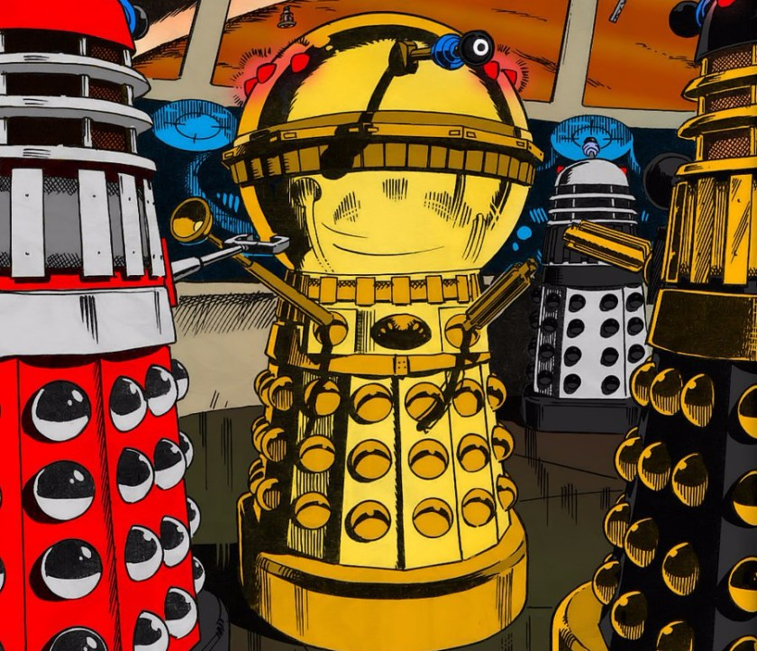 Classic Series Dalek Customs Collection Tour  Expanded