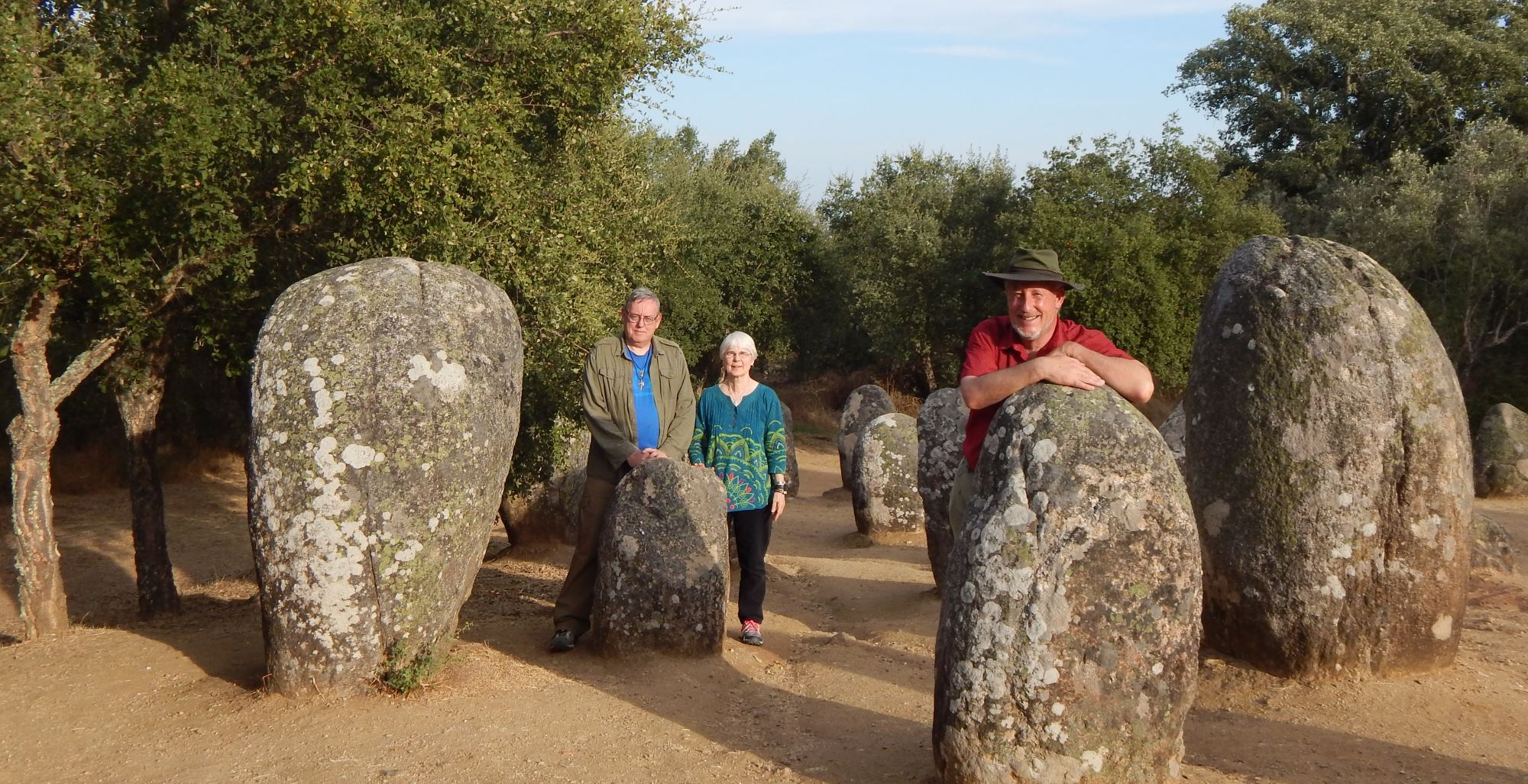 Sacred Landscapes Team - Ted Carter, Calen Rayne, Jini Rayne