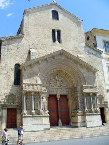 Saint Trophimus Cathedral in France - Sacred Tour of France
