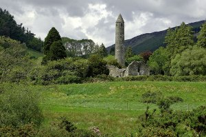 Travel the Sacred Sites of Ireland: Glendalough Valley
