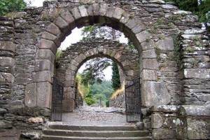 Entrance to Glendalough - Joan Clark's Mystical Pilgrimage to Ireland
