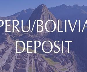 Sacred Peru & Bolivia Tour Deposit