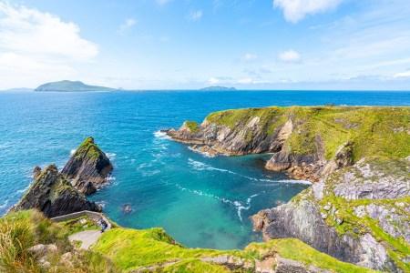 The Dingle Penninsula in Ireland - Sacred Ireland Spiritual Tour with Finbarr Ross