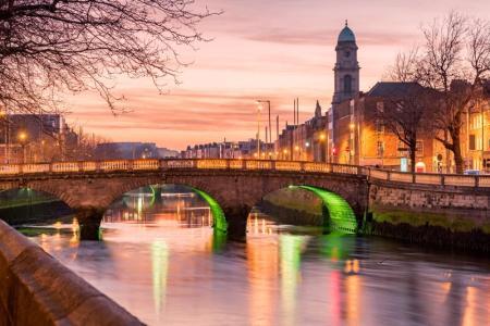 Dublin, Ireland Sunset - Travel Sacred Mystical Ireland with Finbarr Ross