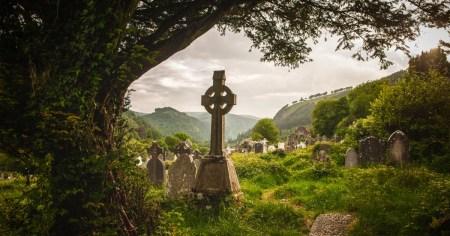 St. Kevin's Cross in Glendalough - Sacred Mystical Journeys