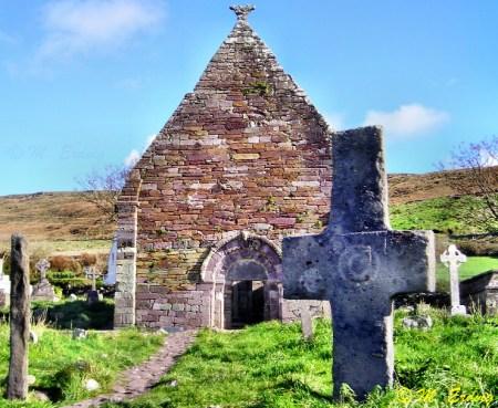 Kilmalkedar Church and Celtic Cross - Sacred Mystical Journeys