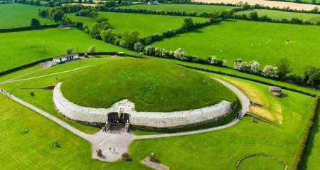 Newgrange in the Boyne Valley, Ireland - Travel Sacred Mystical Ireland