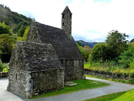 St. Kevin's Church in Glendalough - Tour Sacred Ireland