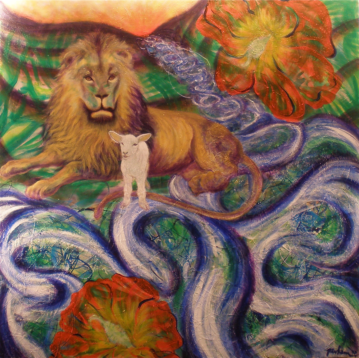 The Peaceable Kingdom and River of Life