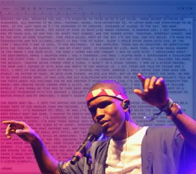 Frank Ocean's Love Letter and the Public Response