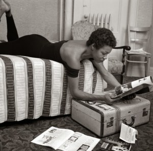 Maya Angelou On Bed