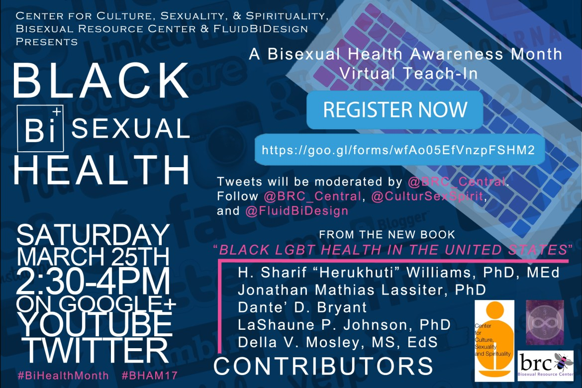 Black Bisexual Health Teach-In (Video)