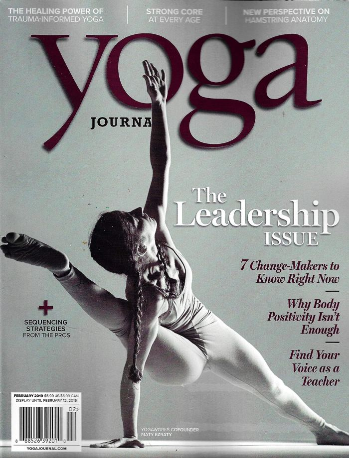 maty ezraty yoga journal cover