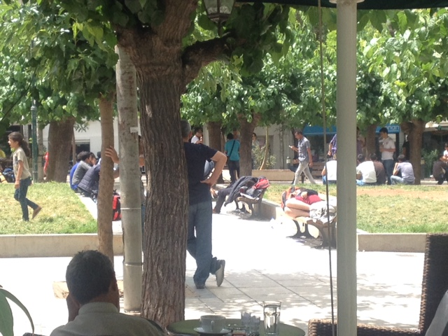 Story from Athens: A Park, A Refugee, & A Great Ending