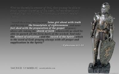 """Armor of God"" wallpaper - widescreen"