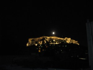 Full Moon over the Acropolis, Athens, Greece_Photo KStanley