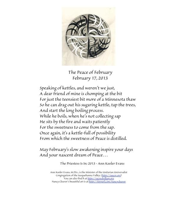 PeaceFebruary17