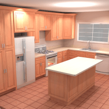 Richins - Kitchen - rendering - full view 071216-A