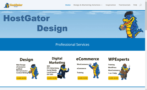 HostGator Design