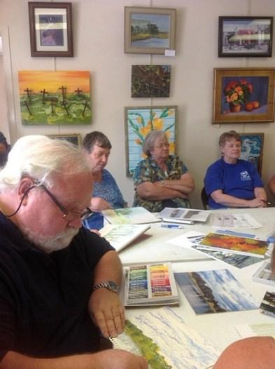 Ed Brummal art class 2