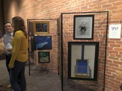 SAC's artists featured at the event.