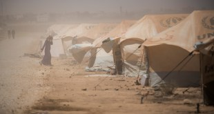 العيش في المخيم الصحراوي مأساوي (Getty)