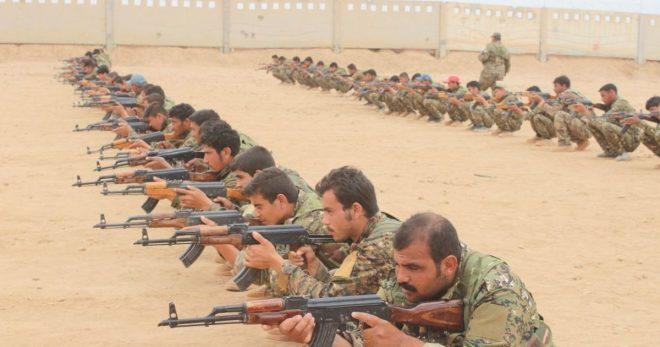 في معسكرات التجنيد -المركز الإعلامي لقسد