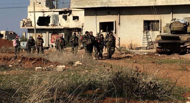 قوات النظام في الجنوب - سبوتنك