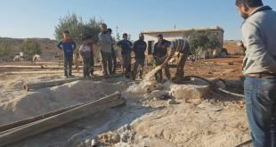 """الآبار الجوفية.. خطر يهدد """"الأمن المائي"""" في الشمال السوري"""