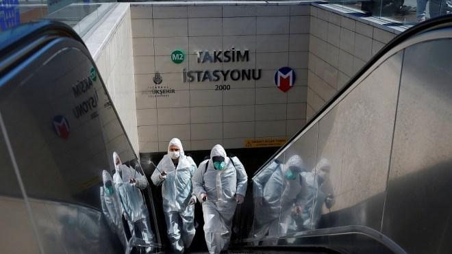 """ارتفاع عدد المصابين والوفيات بفيروس """"كورونا"""" في تركيا"""
