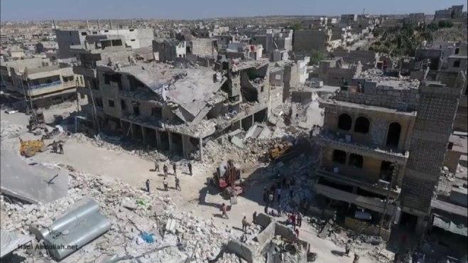 بدعمٍ روسي..قوات الأسد تتقدّم نحو أبواب معرّة النعمان في إدلب