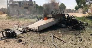 القصف أسفر عن ضحايا - الدفاع المدني