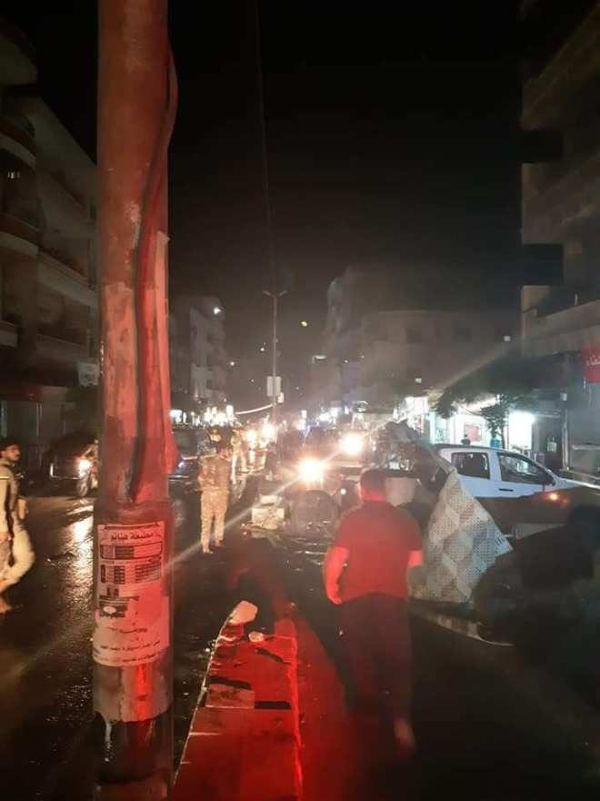 التفجير وقع أمام أحد الأفران في عفرين - الدفاع المدني