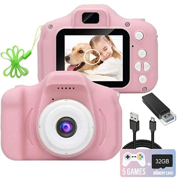 Kids Camera, 1080P FHD Digital Video Recorder Shockproof