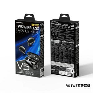 Remax V5 TWS WIRELESS EARBUDS WITH DISPLAY