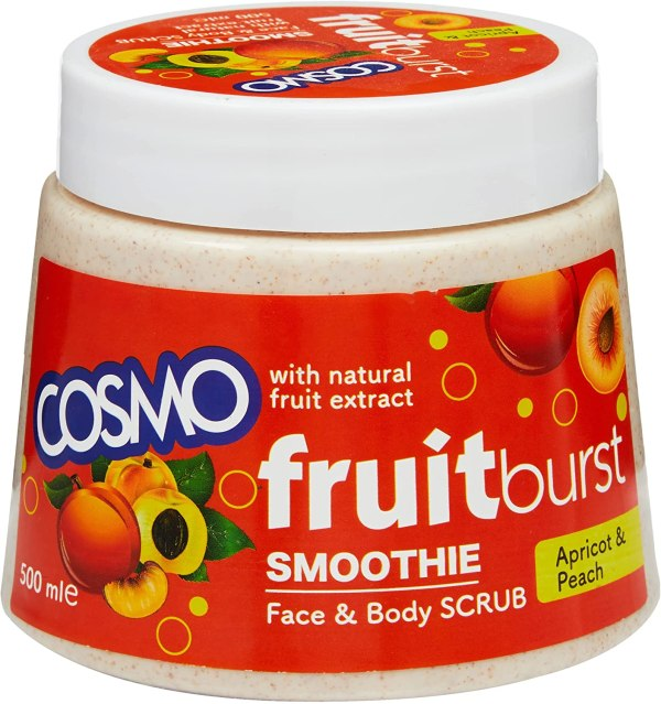 COSMO Fruitburst Smoothie Mix Fruit Face And Body Scrub