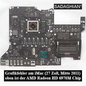 """Grafikreparatur eines iMac 27"""" aus Mitte 2011"""