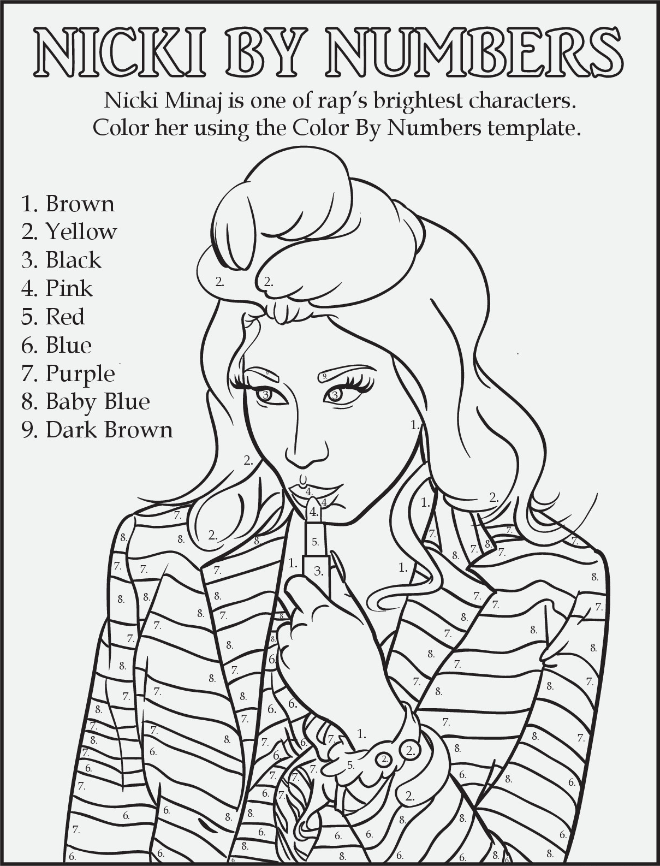 Rap Coloring and Activity Book
