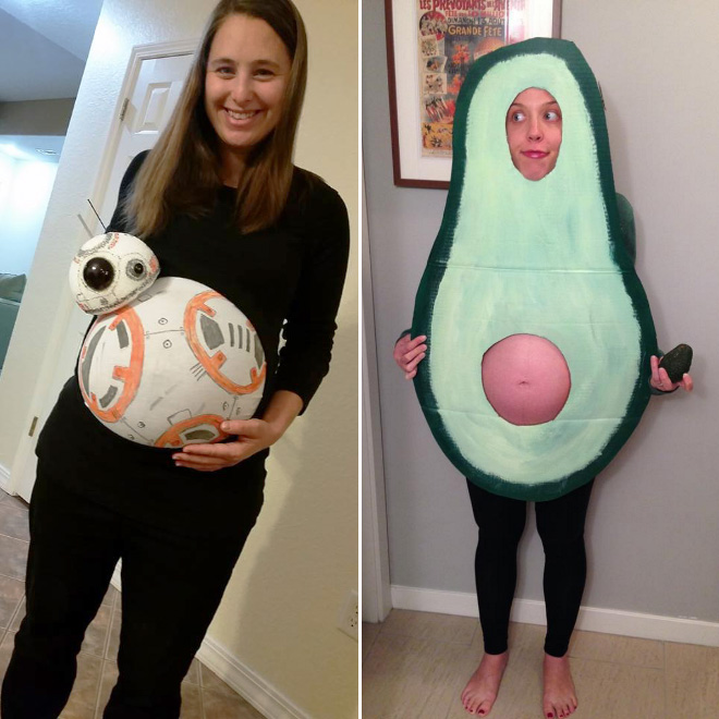 Halloween Costume Ideas For Expecting Moms