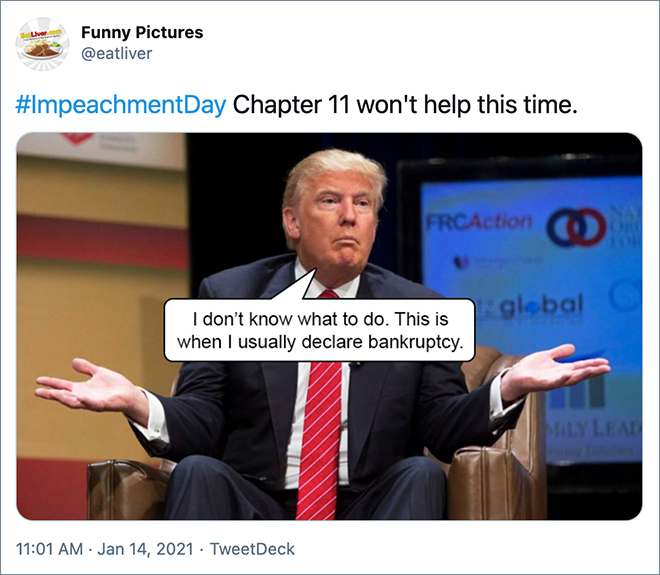Chapter 11 won't help this time.