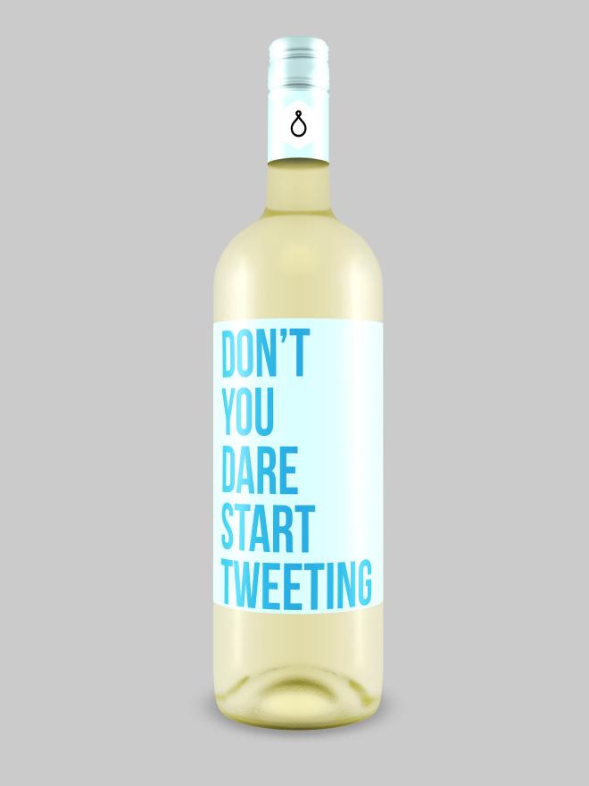 Honest wine label.
