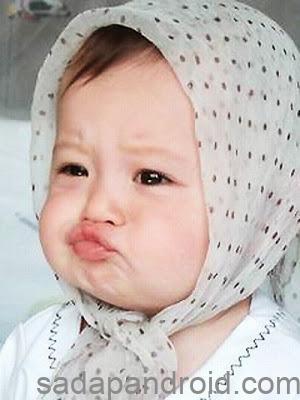 DP BBM Bayi Imut Dengan Gaya Gokil, Kocak, Lucu Banget