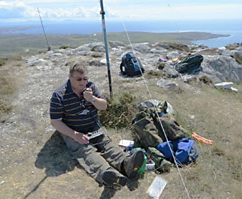 Terry's SOTA station