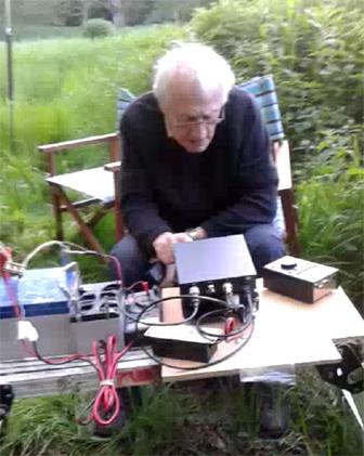 Richard tuning up