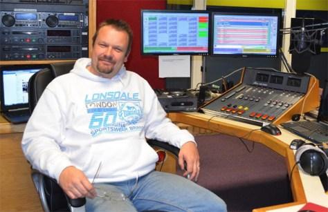 Steve at Radio Peterborough