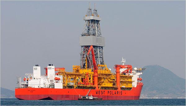 First photos of China and Cuba JOA deepwater drilling ship