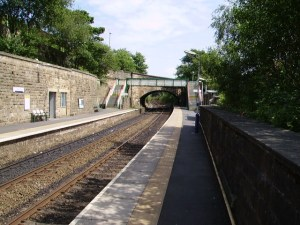 Greenfield railway station. Image credit: Road Wizard